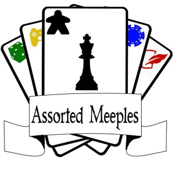 Assorted Meeples Gaming Logo