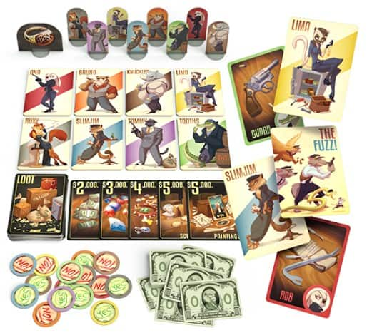 Good Critters board game spread