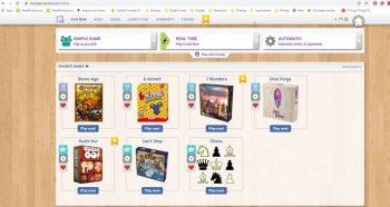 boardgamearena screenshot