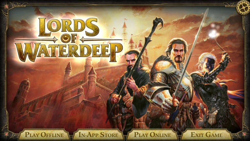 Lords of Waterdeep Game on Steam
