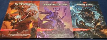 Dungeons and Dragons 5th Ed Core Books