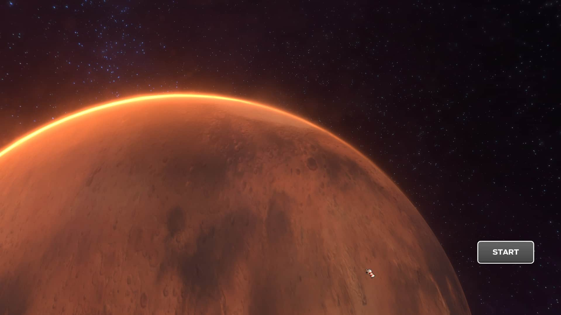 Mars from Tharsis video game