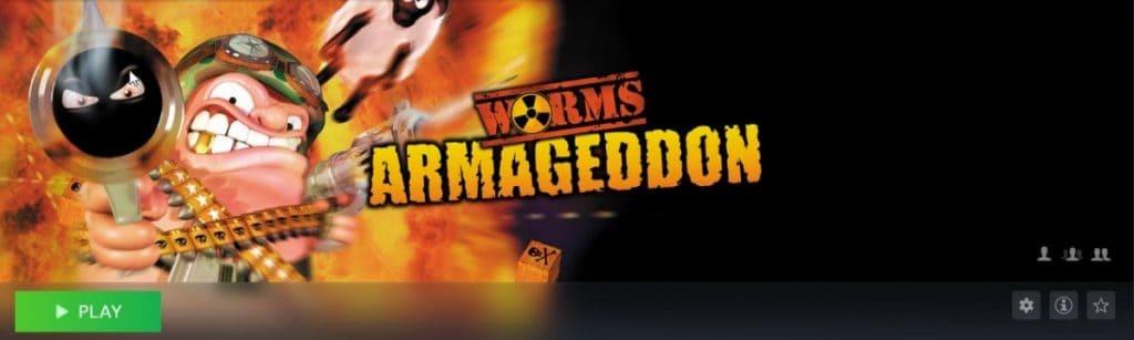 Worms Armageddon Screenshot