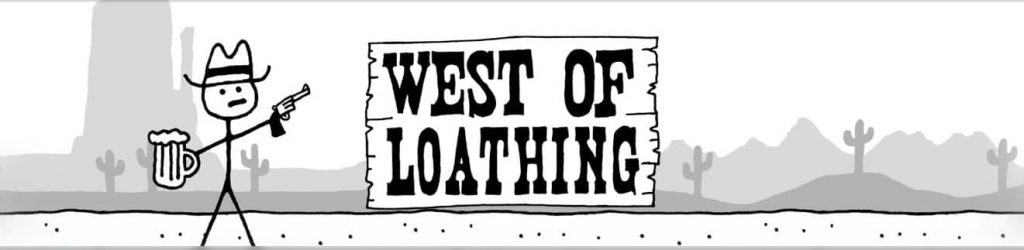 West of Loathing Video Game Banner