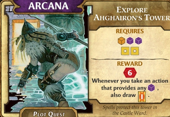 Explore Ahghairon's Tomb Lords of Waterdeep Plot Quest