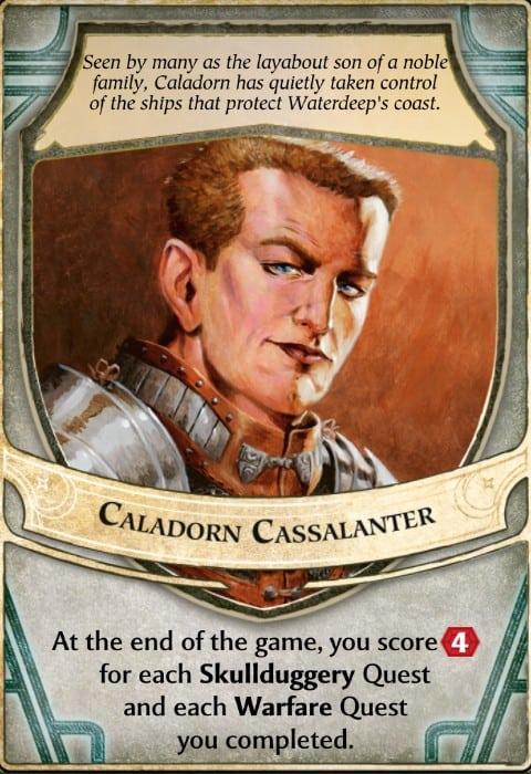 Caladorn Cassalanter Lord of Waterdeep Lord Card