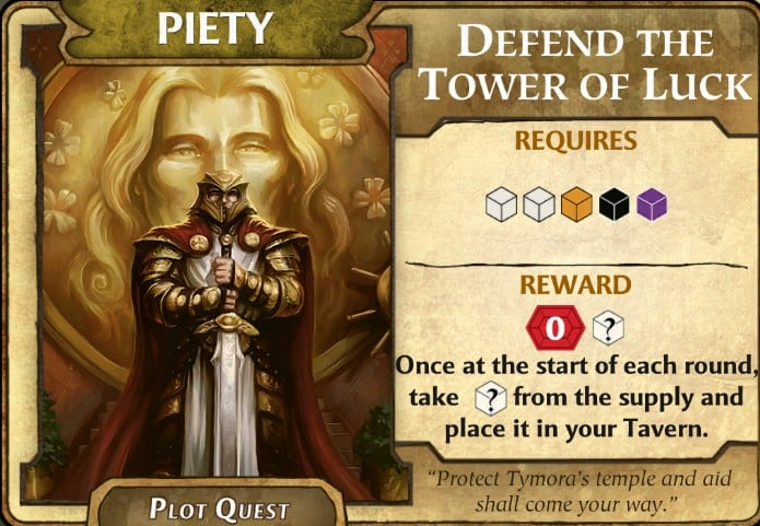 Defend the Tower of Luck LOW plot quest