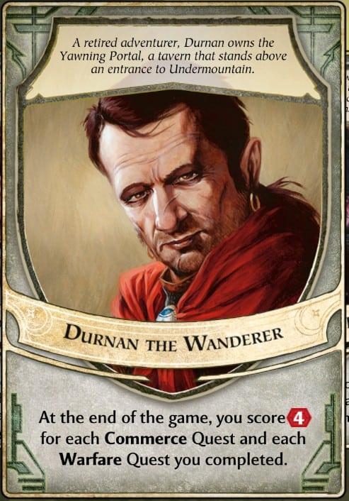 Durnan the Wanderer Lord of Waterdeep Lord Card