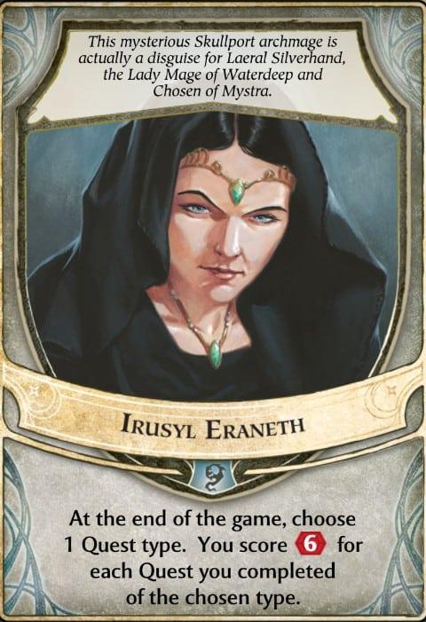 Irusyl Eraneth Lords of Waterdeep Lord Card
