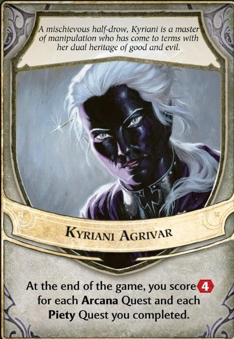 Kyriani Agrivar Lords of Waterdeep Lord Card
