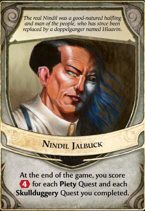 Nindil Jalbuck Lords of Waterdeep Lord Card