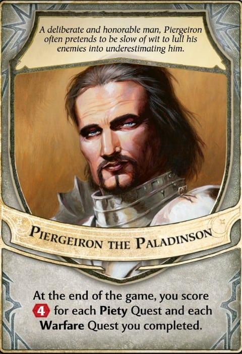 Piergeiron Paladinson lord of waterdeep lord card