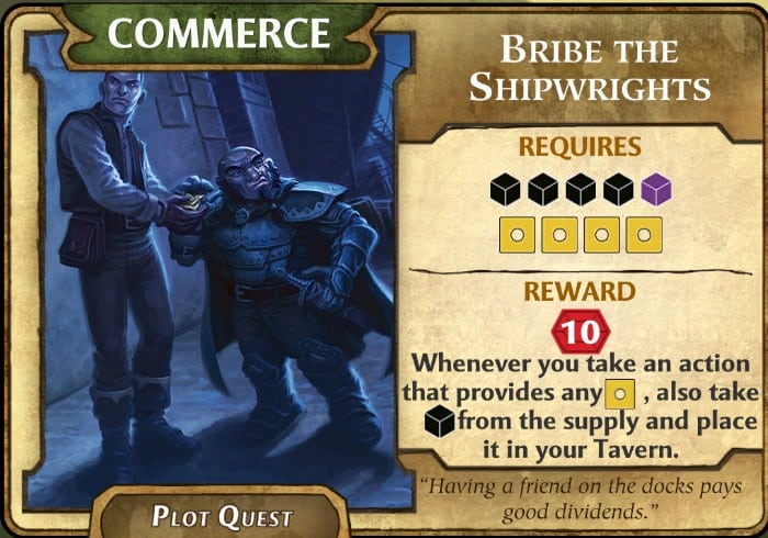 Bribe the Shipwright LOW plot quest