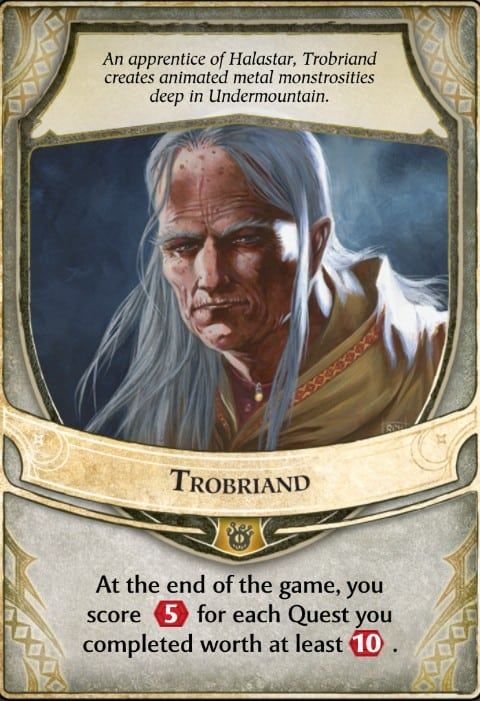 Trobriand Lords of Waterdeep Lord Card