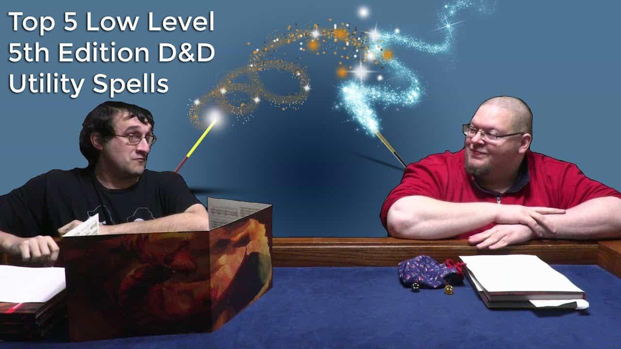 Gamers talking D&D Spells