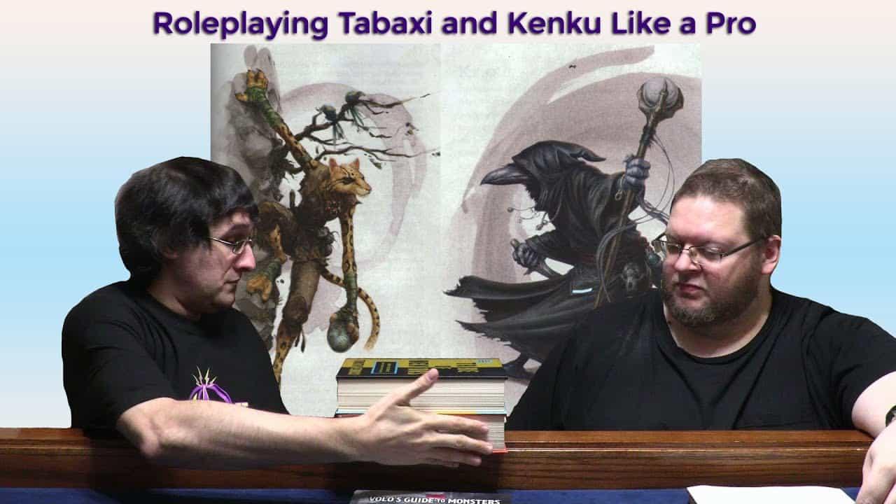 Kenku Tabaxi D&D Players