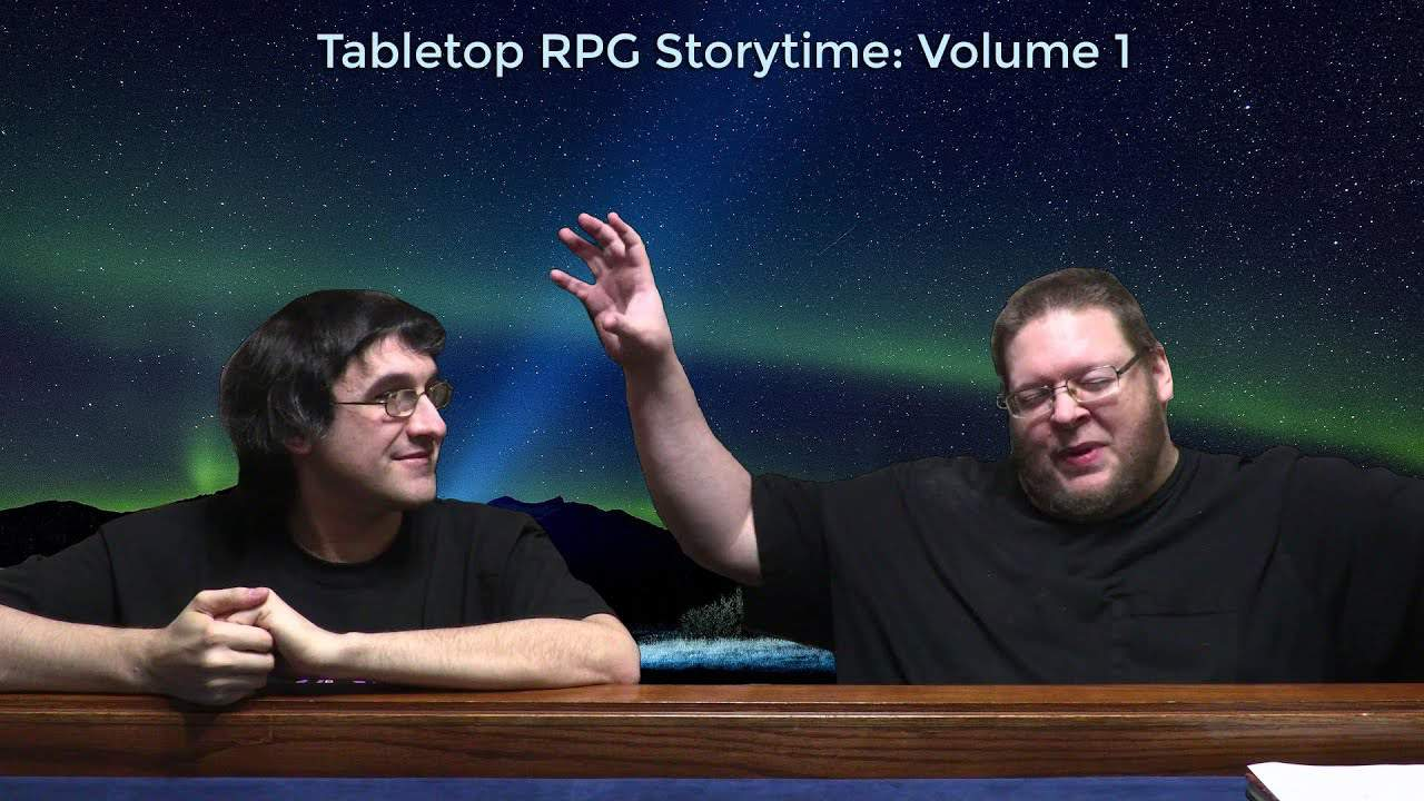 Two roleplayers telling stories
