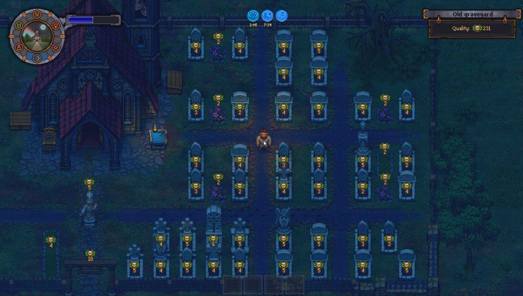 Upgraded Cemetery Graveyard Keeper Screenshot