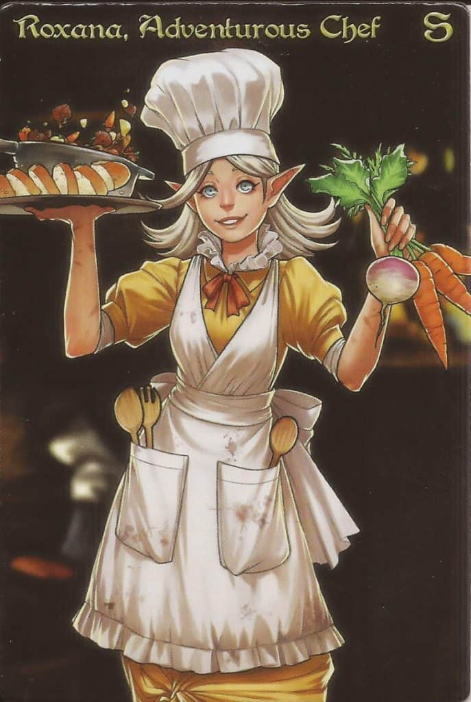 Roxana, Adventurous Chef