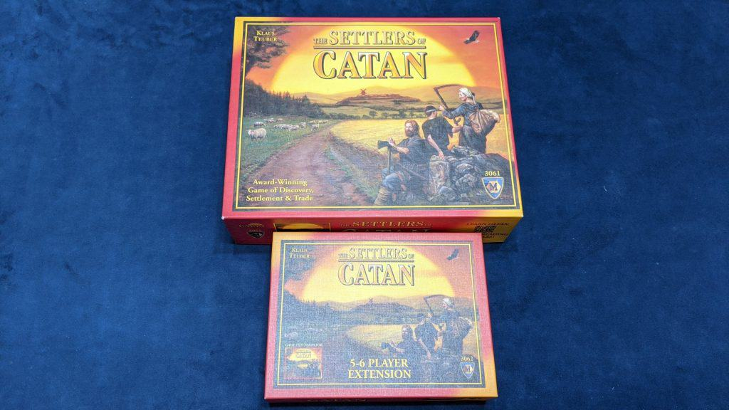 settlers of catan board game and expansion
