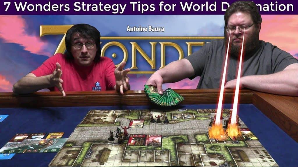 death ray eyes on 7 wonders game