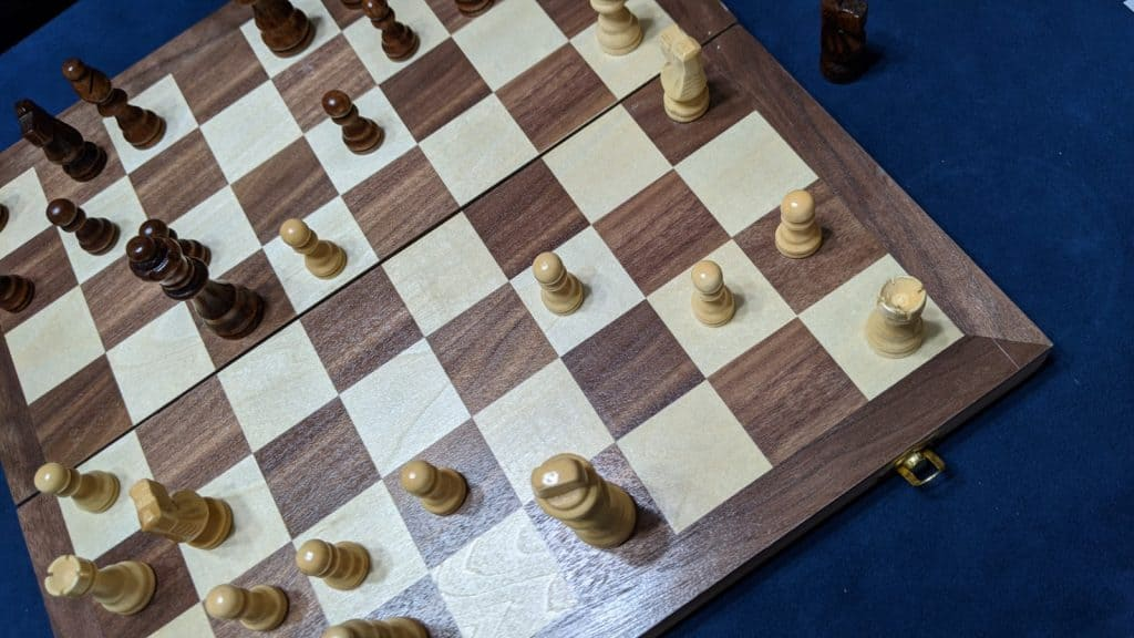 illegal castle scenario chess