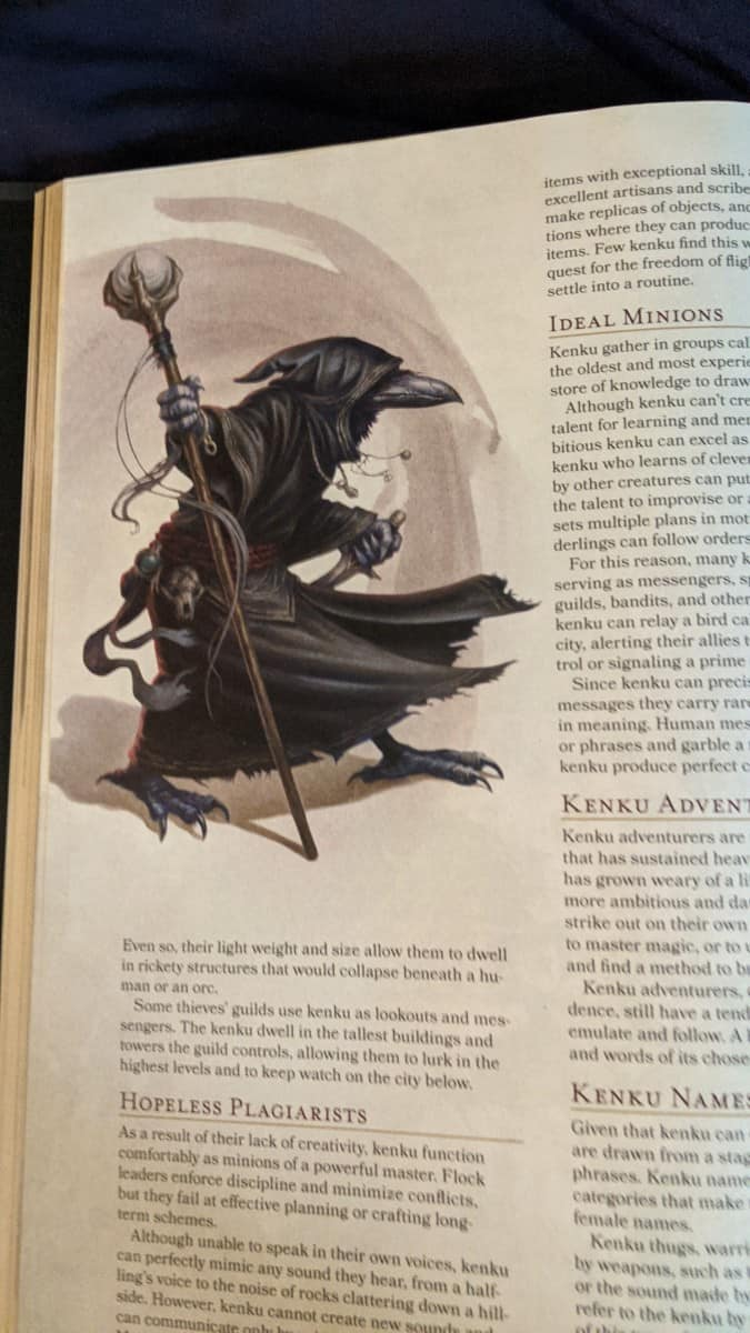 picture of Kenku 5E