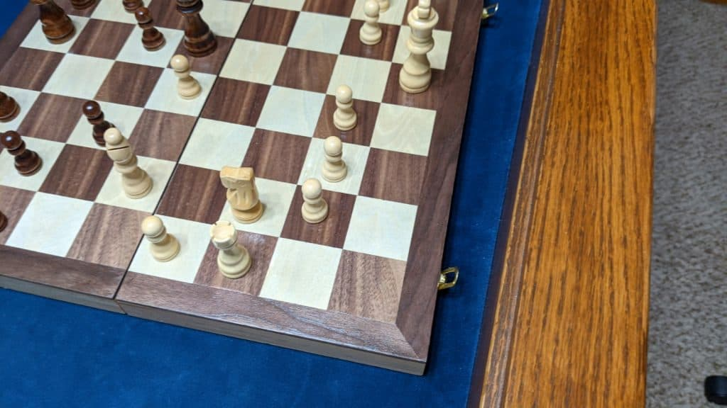 rook already moved chess