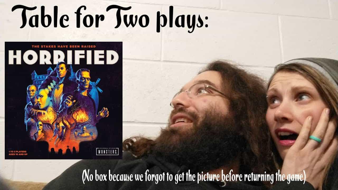 Gamers horrified at horrified boardgame