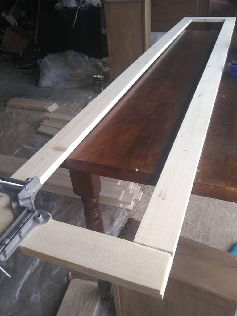 building frame custom gaming cabinet