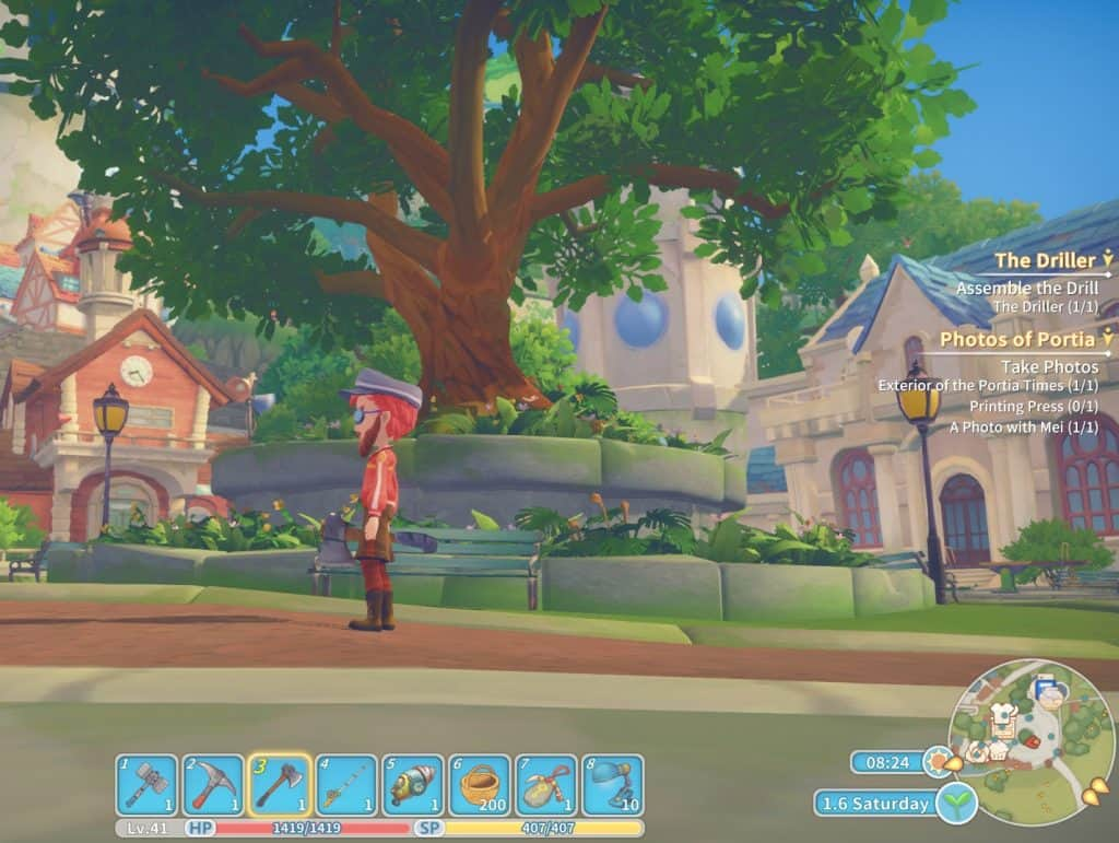 MC by big tree my time at portia