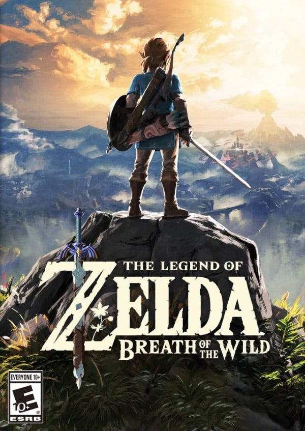 breath of the wild poster shot