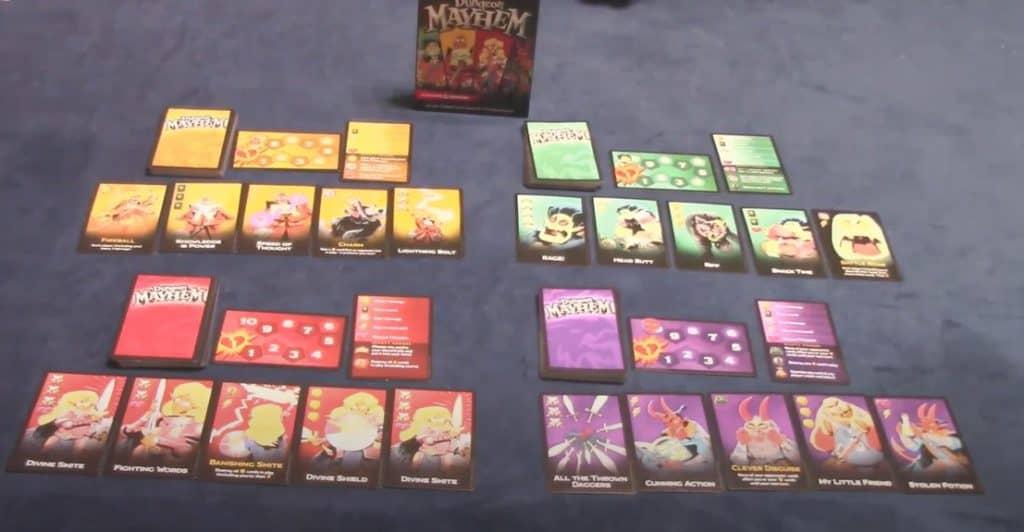 dungeon mayhem game cards