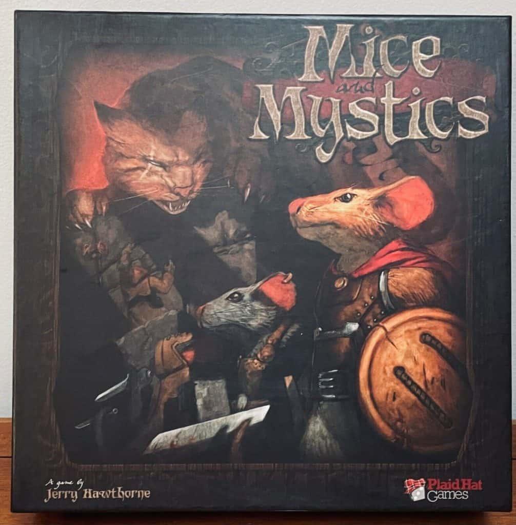 Mice and Mystics boardgame
