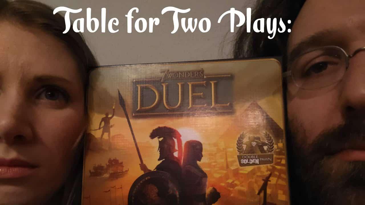 7 Wonders Duel Boardgame