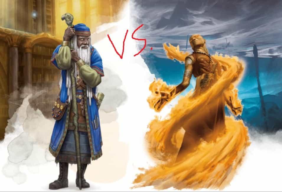 wizard vs. Sorcerer 5E
