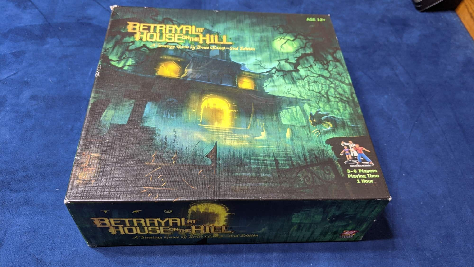 betrayal at house of the hill board game