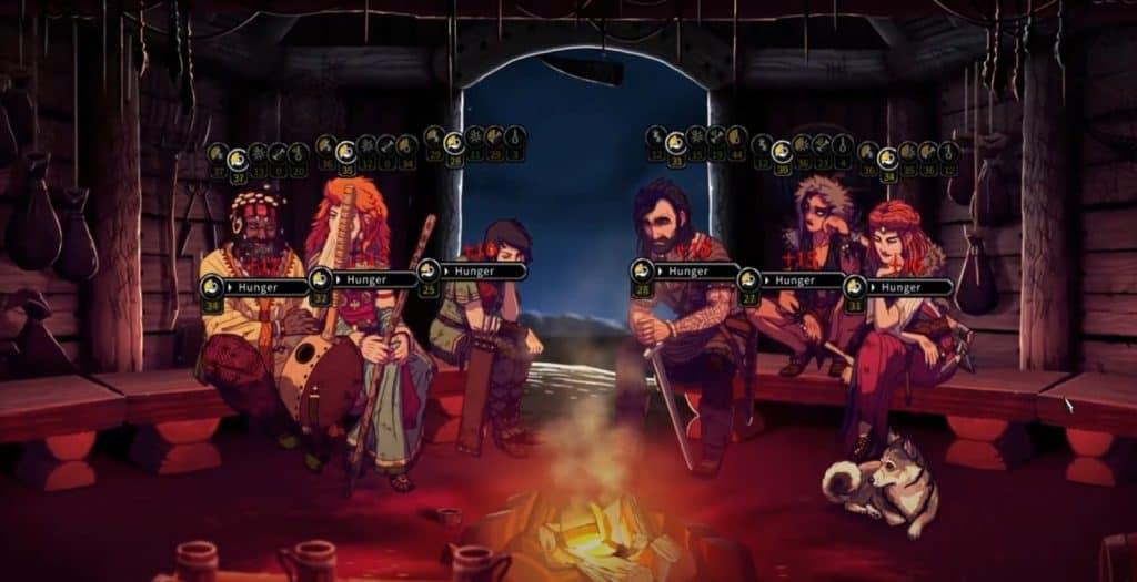 Death in Vinland around the fire