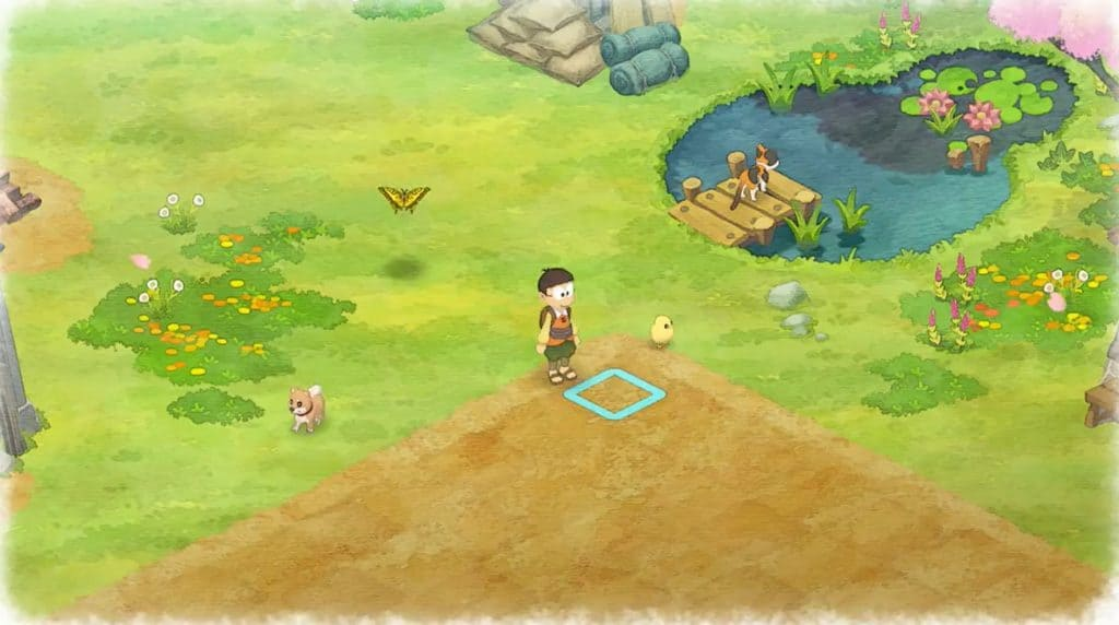 Doraemon story of seasons starting farm