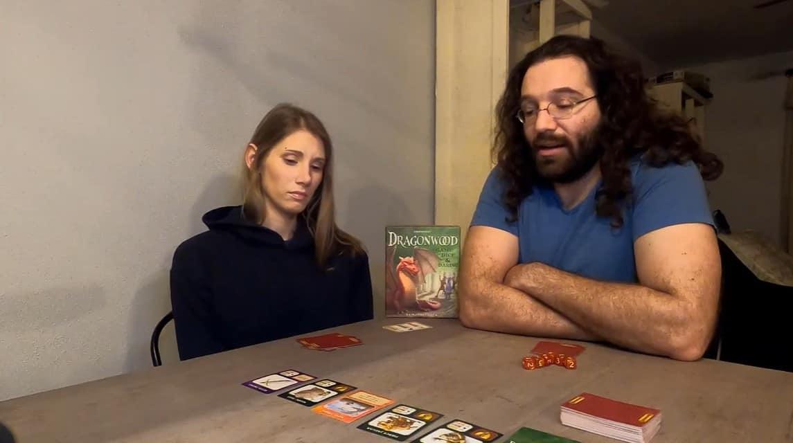 gaming couple playing Dragonwood