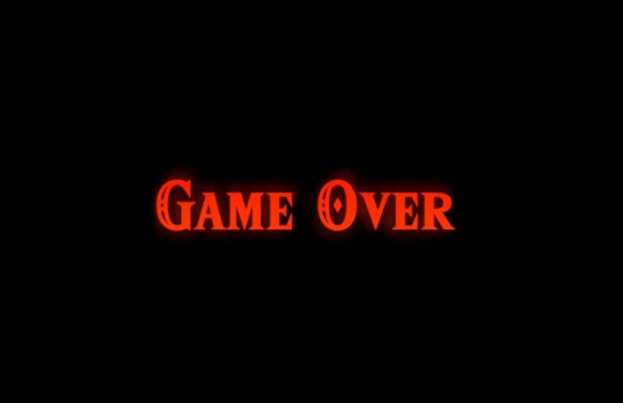 game over zelda botw