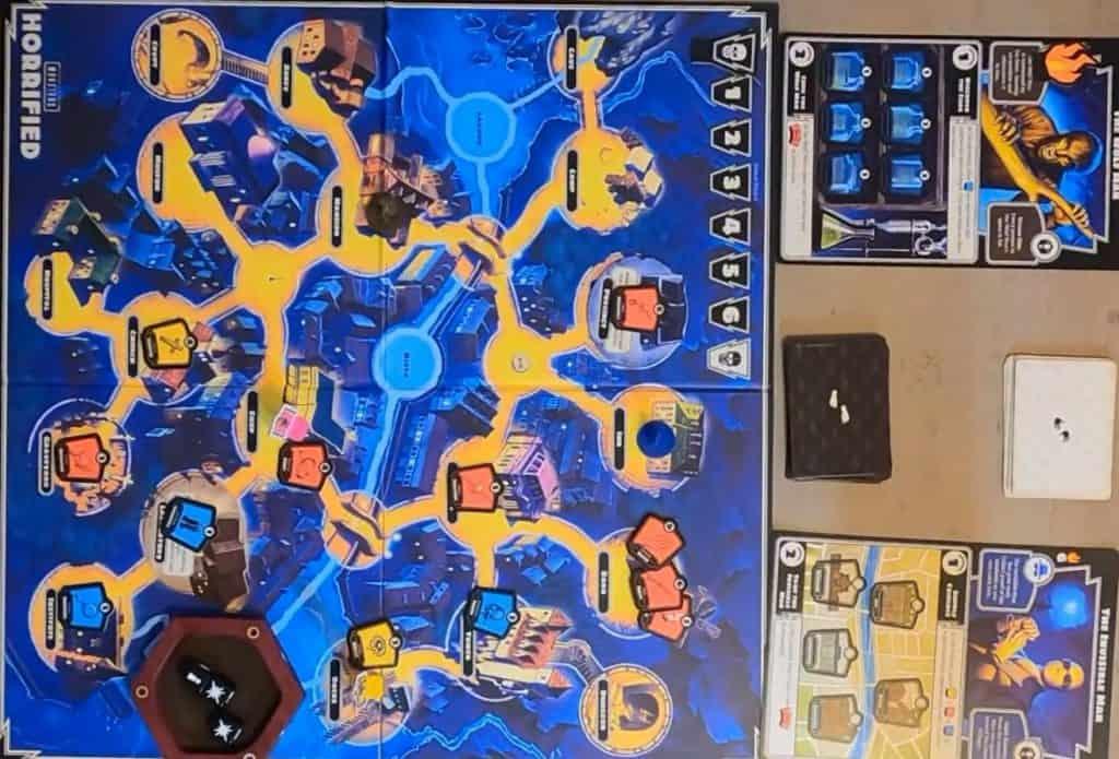 horrified boardgame