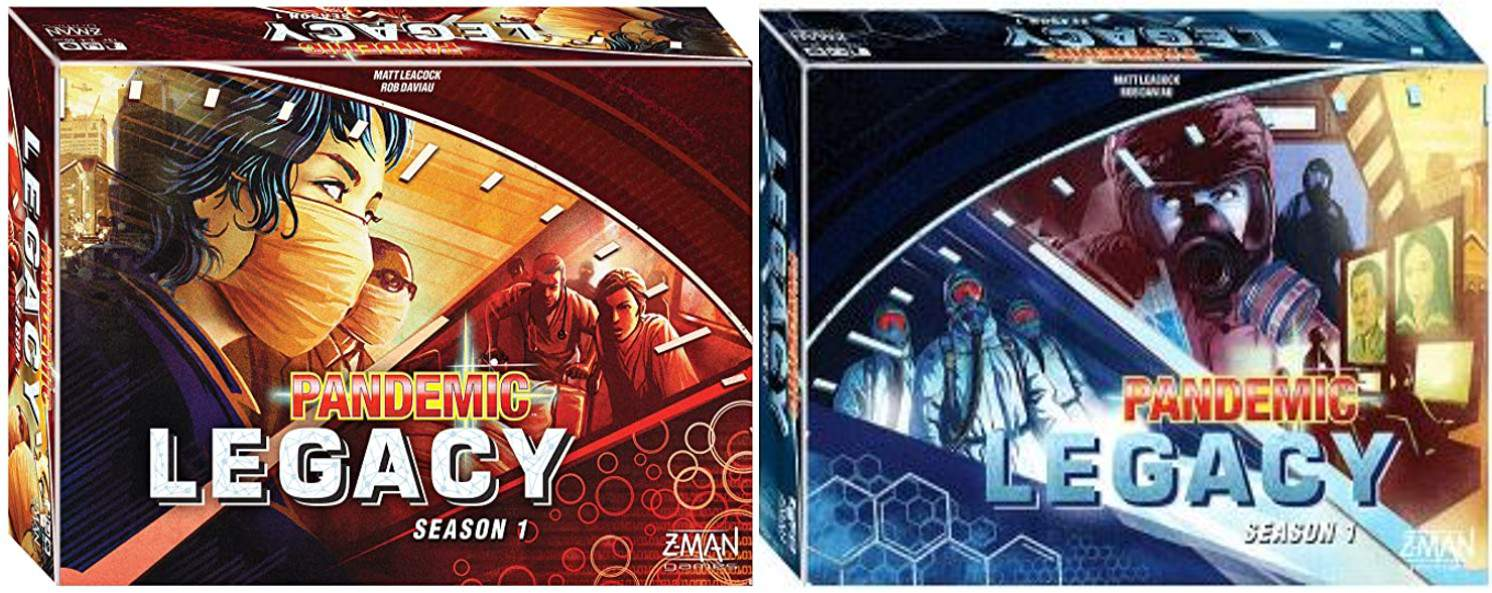 pandemic legacy blue pandemic legacy red