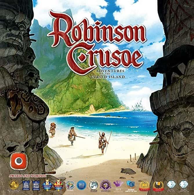 Robinson Crusoe boardgame