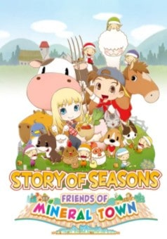 story of seasons friends of mineral town cover