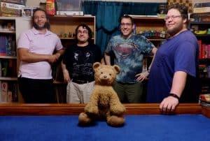 Assorted Meeples (Phil, Braden, Callahan, Shane, Brownie)