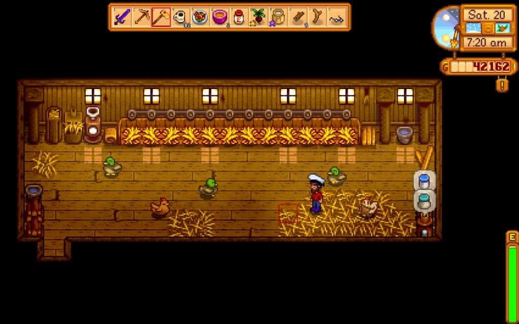 stardew valley chicken coop autofeeder