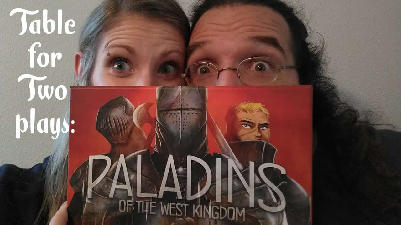 Paladins West Kingdom board game with gamers