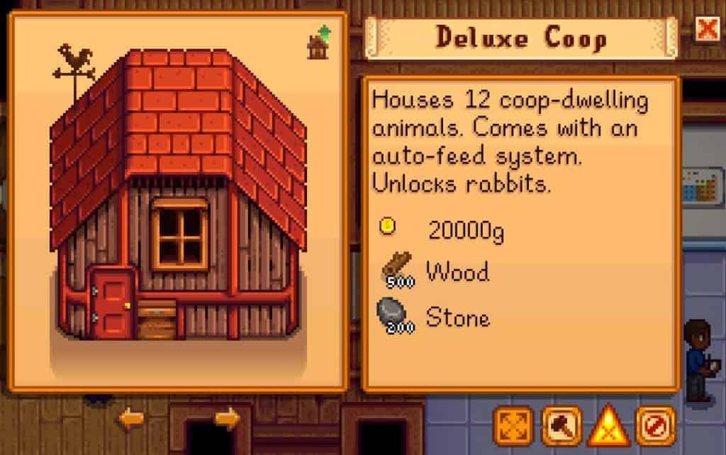 deluxe coop cost stardew valley