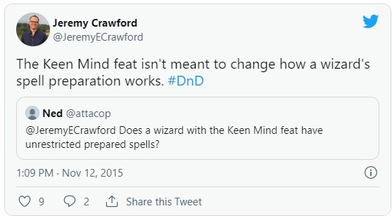 jeremy crawford keen mind rules